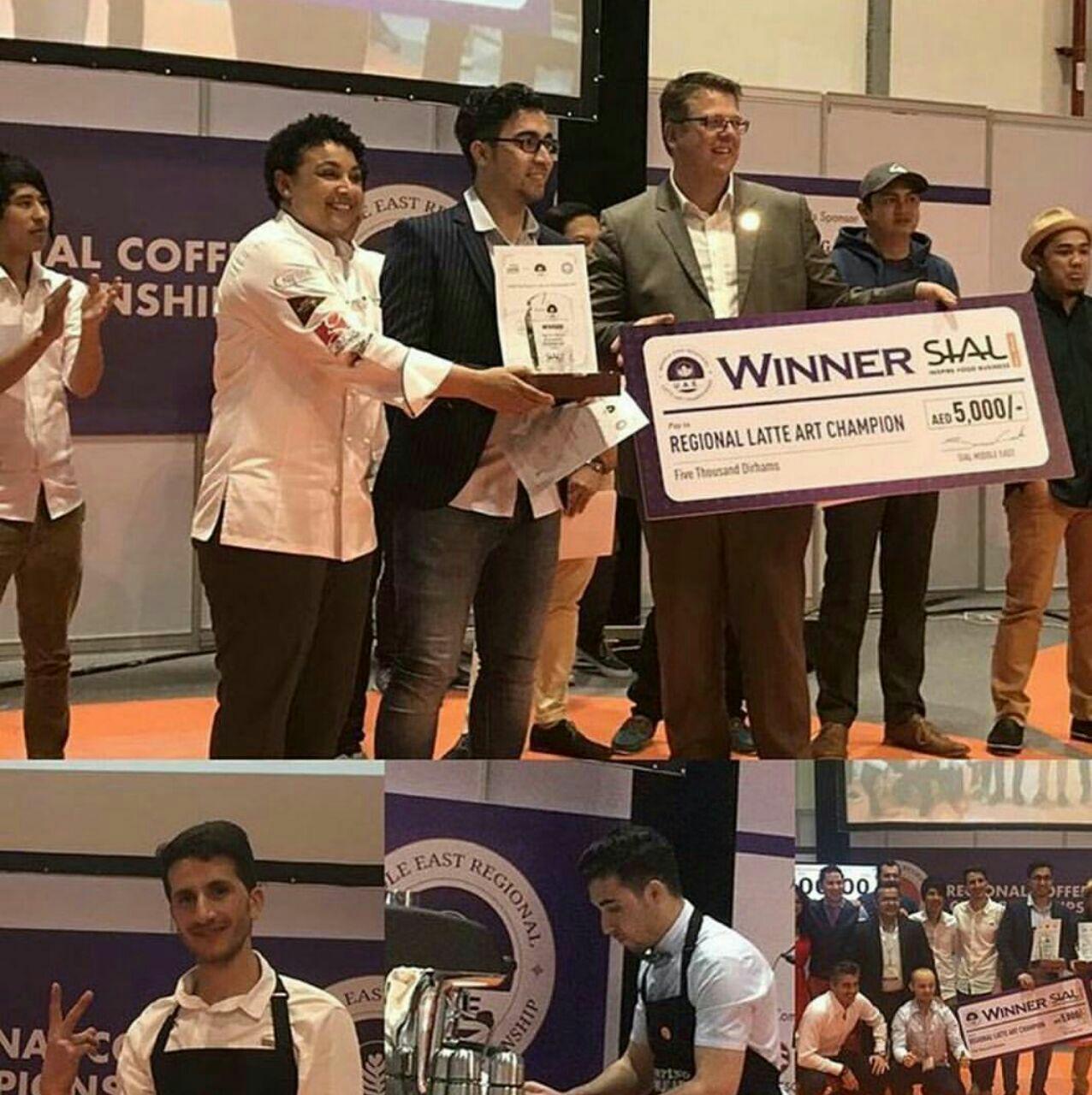 مسابقات آزاد لته آرت منطقه خاورمیانه